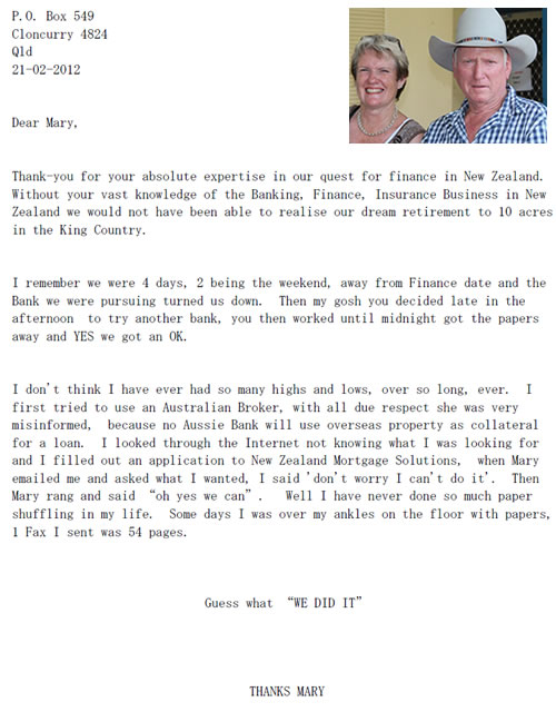 Robyn and Ben's Letter